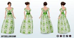 Historical - Antebellum Gown
