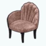 RoaringTwentiesSpin - Pearl Shell Chair