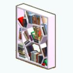 Graduation - Whacky Bookshelf