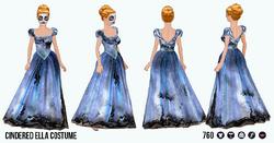 ZombieFairyTales - Cindered Ella Costume