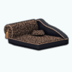PetShopSpin - Leopard Dog Bed
