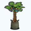 TikiChristmasSpin - Christmas Palm Tree