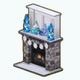 SnowedDay - Snowflake Fireplace