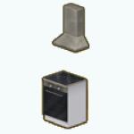 KobenhavnKitchenDecor - Minimalist Stove Range