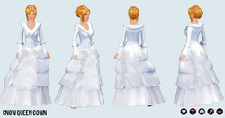 IcePrincessClothing - Snow Queen Gown
