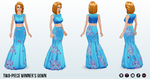 CookingContest - Two-Piece Winners Gown