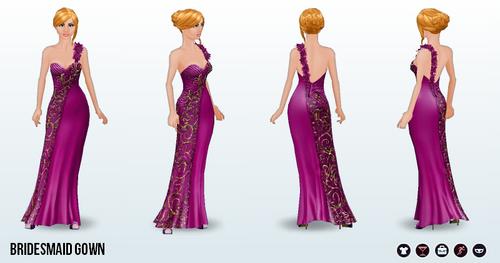Bridesmaid - Bridesmaid Gown
