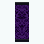 GothicDecor - Purple Gothic Wallpaper