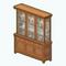 CraftsmanCharmDecor - Gustav China Cabinet