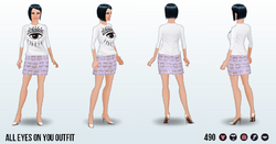 FashionWeekSpin - All Eyes on You Outfit