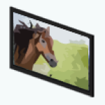 PetShopSpin - Horse Portrait