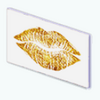 NewYearsPartyDecor - Gold Foil Lips
