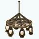 Cowgirls - Lantern Chandelier