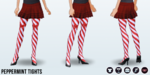 GingerbreadHousingCrisis - Peppermint Tights