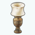 AmericanColonialDecor - Sculpted Table Lamp