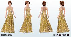 MidsummerNightsDreamSpin - Helena Gown