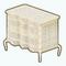 GirlOfPearlDecor - Pearl Inlay Dresser