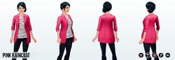 CafeRaffle - Pink Raincoat