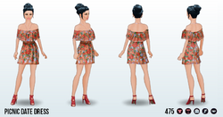 SummerRomanceSpin - Picnic Date Dress