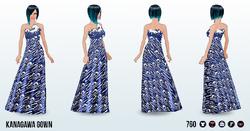 PageantOfTheArts - Kanagawa Gown