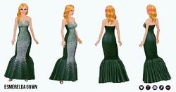 Prom - Esmerelda Gown