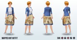 JetsetChic - Mapped Out Outfit