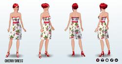 Summer - Cherry Dress
