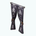WinterStreetStyleSpin - Winter Fleur Curtains