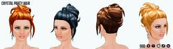 YourYearToSparkle - Crystal Party Hair
