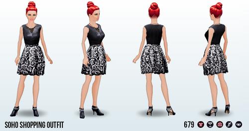 SohoChicSpin - Soho Shopping Outfit