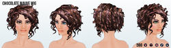 MarchHairSpin - Chocolate Mauve Wig 2