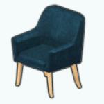 WinterGlamDecor - Velvet Armchair