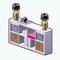 CityLivingDecor - Storage Shelf