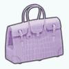 MayDaySpin - French Lavender Purse