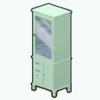 MintGreenDecor - Retro Bathroom Cabinet