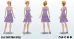 Bridesmaid - Lilac Bridesmaid Dress