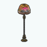 PatchworkSpin - Roses and Pearls Lamp