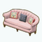 HighclereCastleDecor - Edwardian Sofa