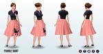 SadieHawkinsDance - Poodle Skirt