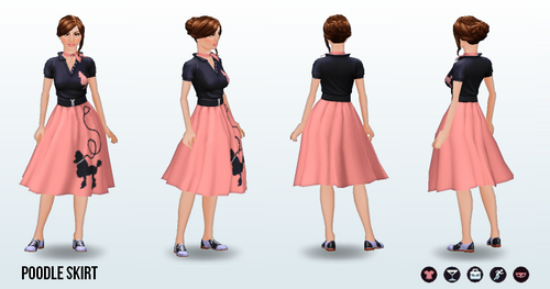 SadieHawkinsDance - Poodle Skirt