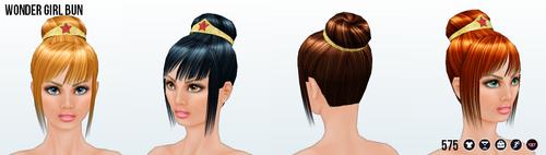 GeekConvention - Wonder Girl Bun