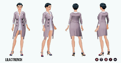 PoshProfessional - Lilac Trench