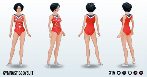 SummerGames - Gymnast Bodysuit