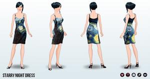 Career - Starry Night Dress