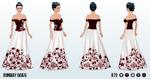 FashionWeekSpin - Runway Gown