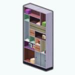 ColorblockSpin - Colorblock Bookshelf