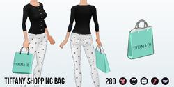 OdeToAudrey - Tiffany Shopping Bag