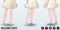 Halloween2013 - Ballerina Tights