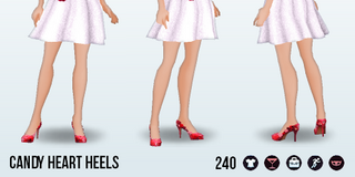 ValentinesDay - Candy Heart Heels