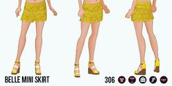 ModernStorybook - Belle Mini Skirt